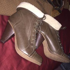 Mia girl high heel boots